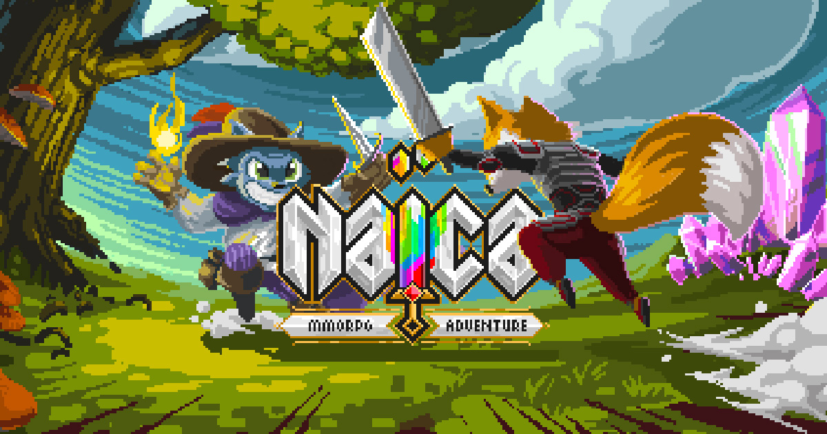 New 2D MMORPG cross-platform | Naïca Online